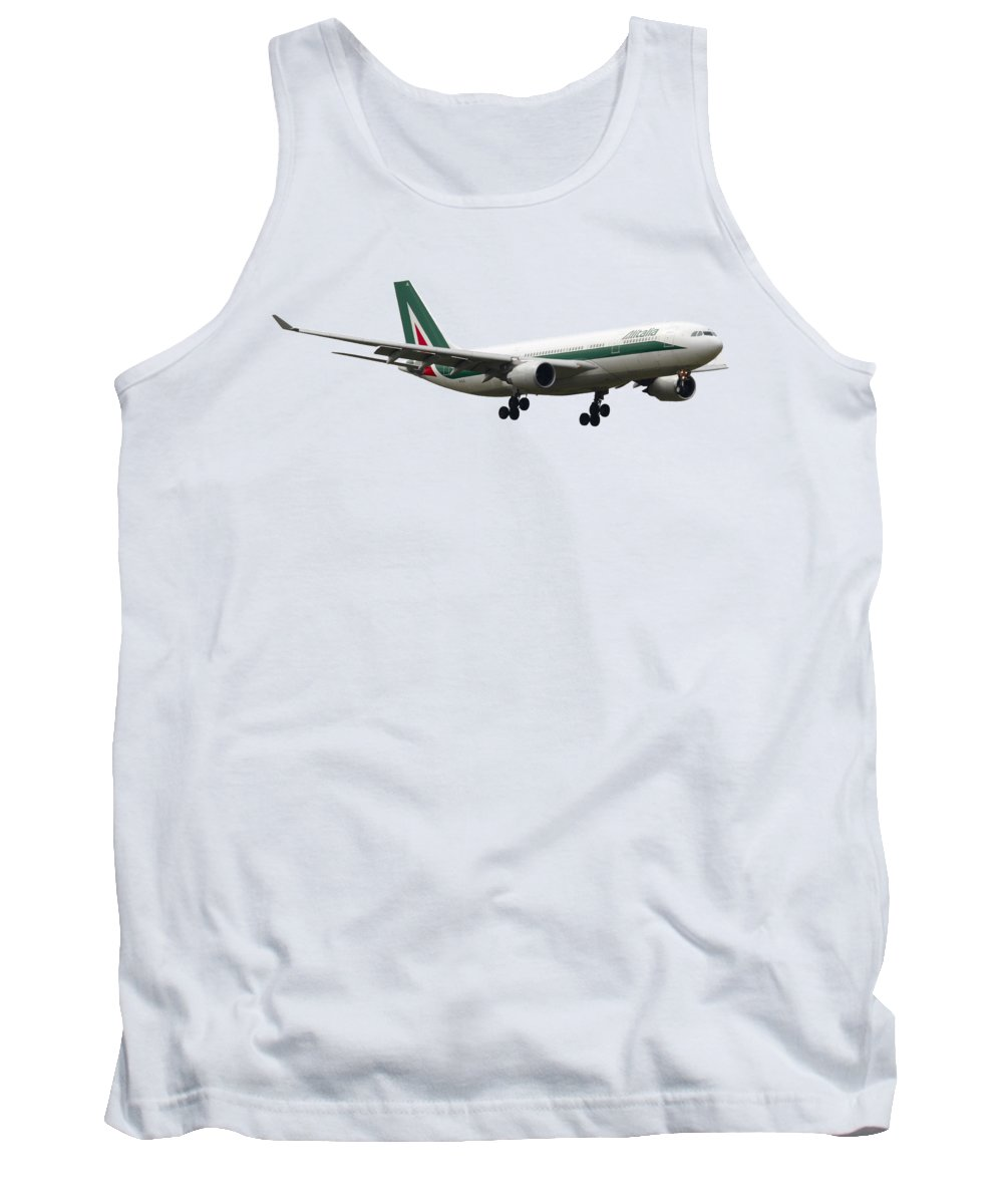 Alitalia Photographs Tank Tops