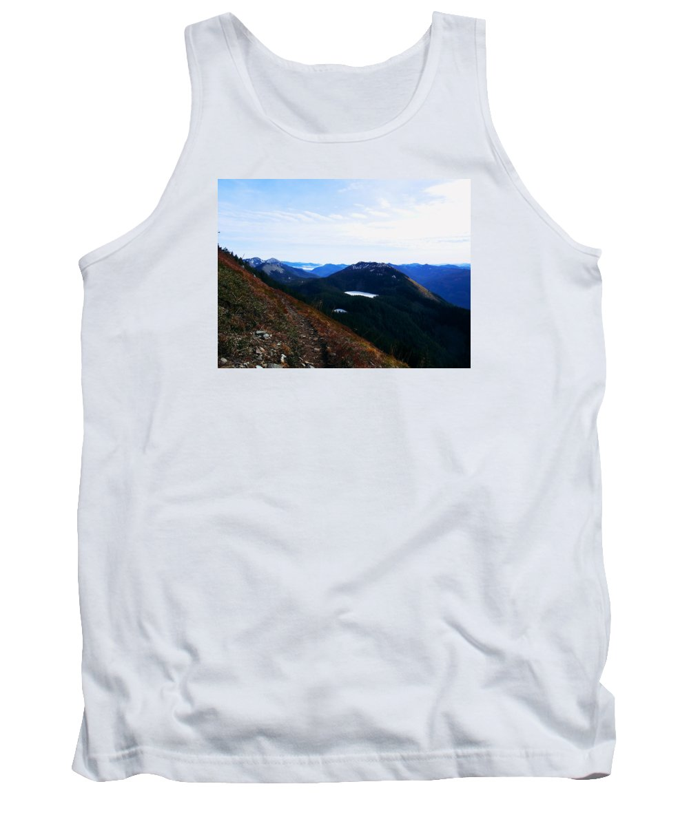 Landscape Tank Top featuring the photograph Along The Mt Defiance Trail by Kenneth Willis