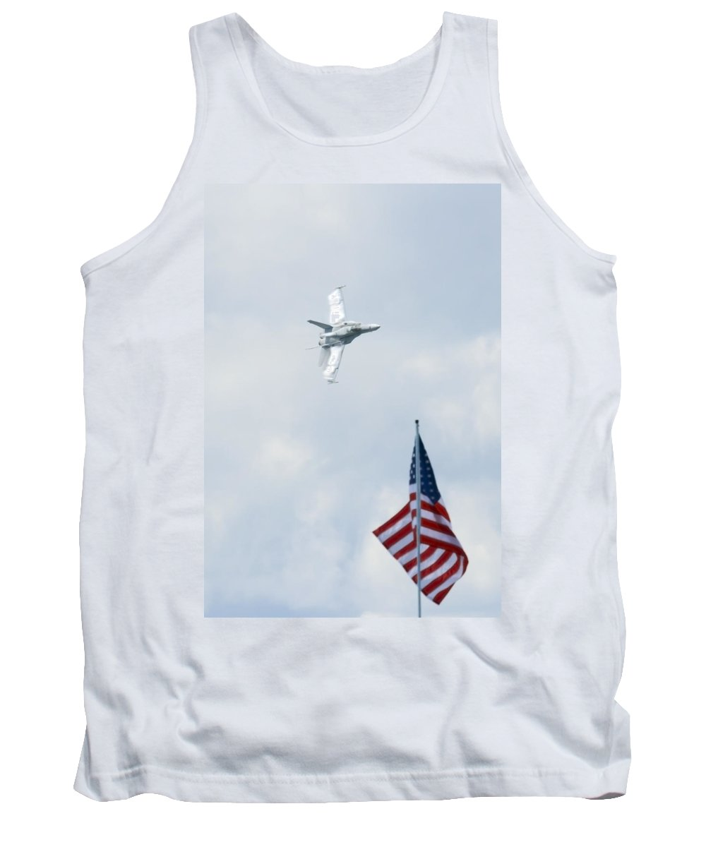 Us Tank Top featuring the photograph American Pride by Travis Rogers