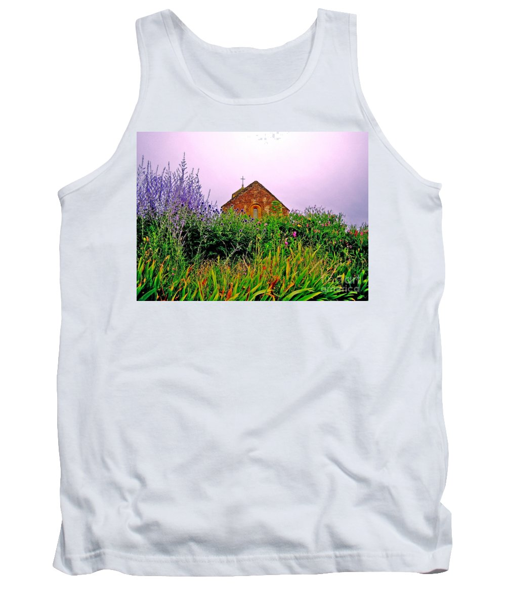 Chapel Tank Top featuring the photograph Ameugny 3 by Jeff Barrett