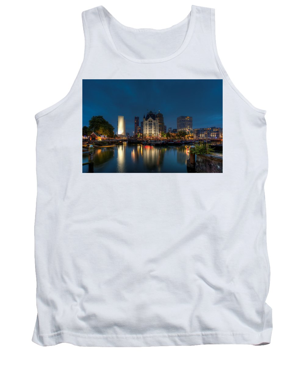 Photography Tank Top featuring the photograph Amsterdam by Vincent Ferooz
