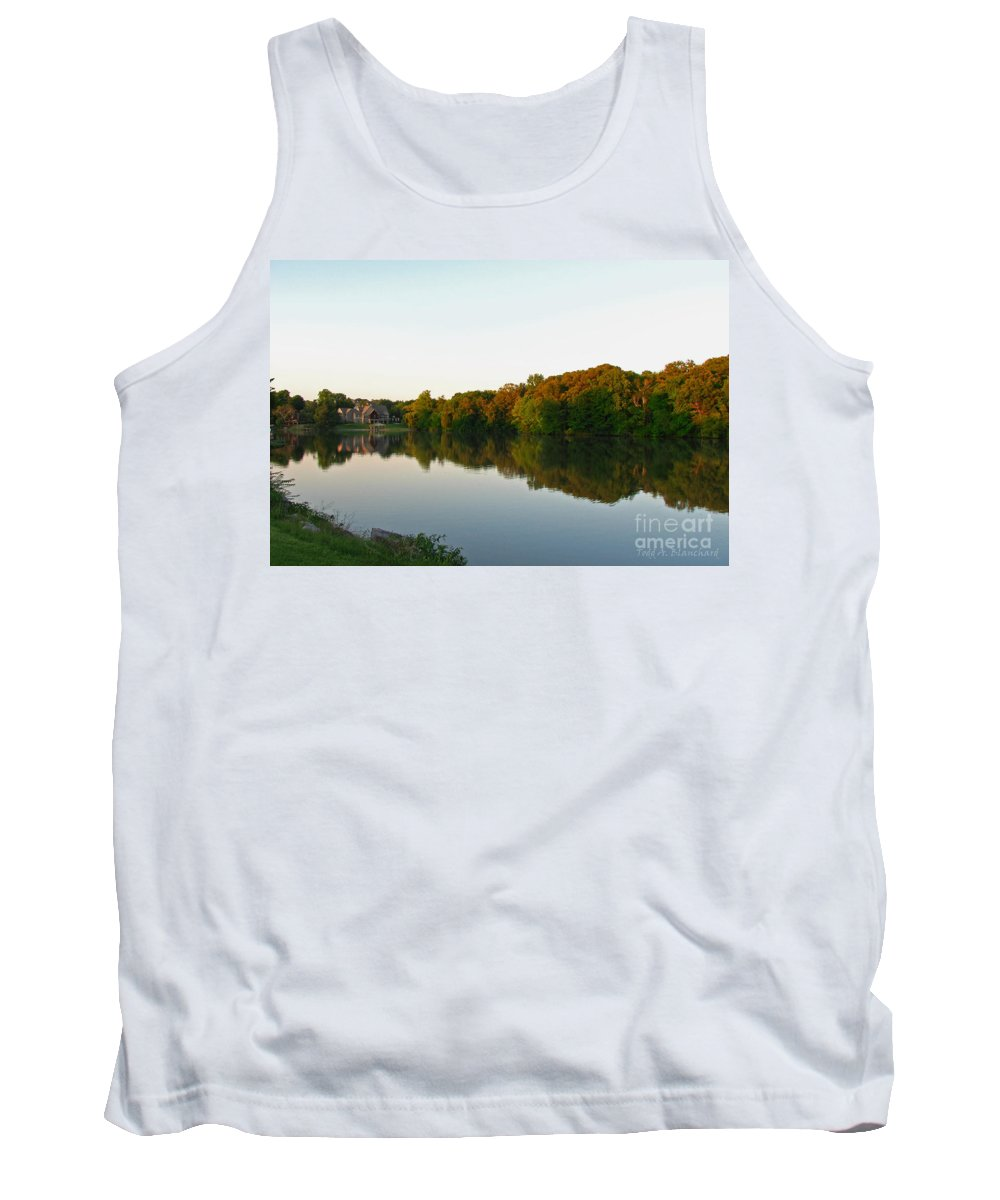Landscape Tank Top featuring the photograph An Excellent Vantage Point by Todd Blanchard