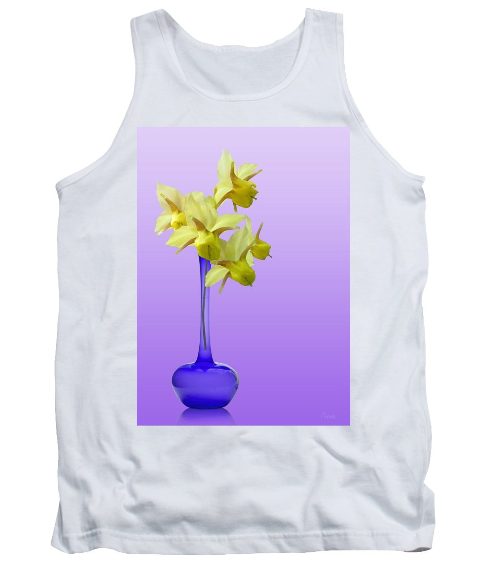 Easter Tank Top featuring the photograph Announcing Spring by I'ina Van Lawick