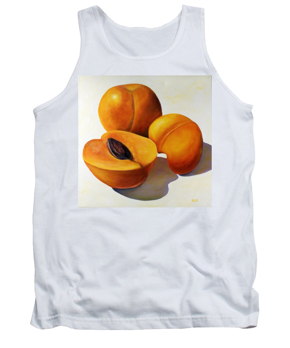 Apricots Tank Top featuring the painting Apricots by Shannon Grissom