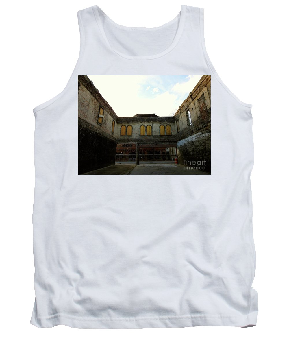 Florence Tank Top featuring the photograph Arena by John Keith