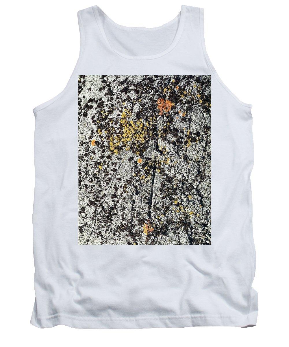 Texture Tank Top featuring the digital art art 744 Eliot Porter by Eloisa Mannion