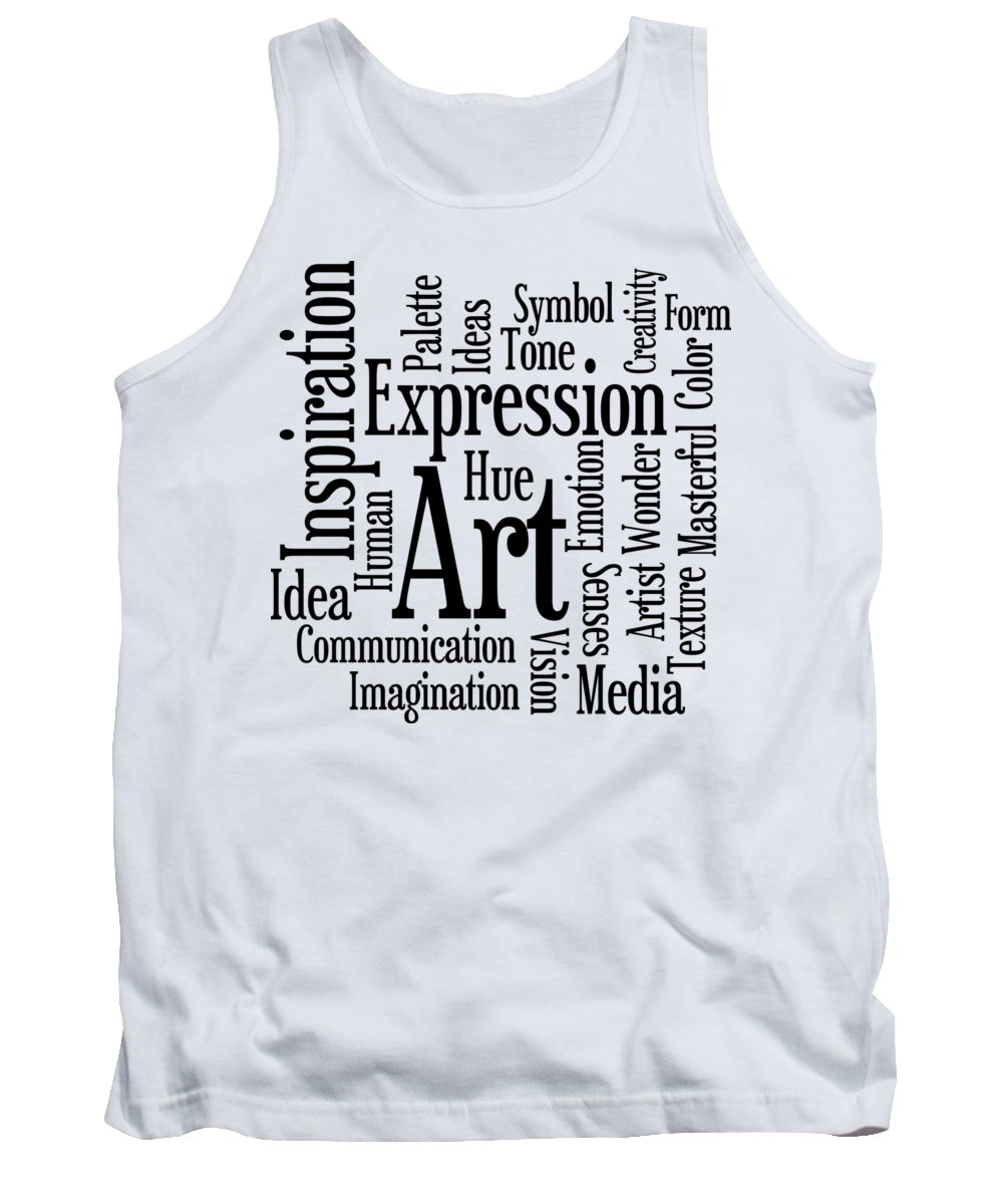 Artist Tank Top featuring the digital art Art Inspiration Creativity by Antique Images