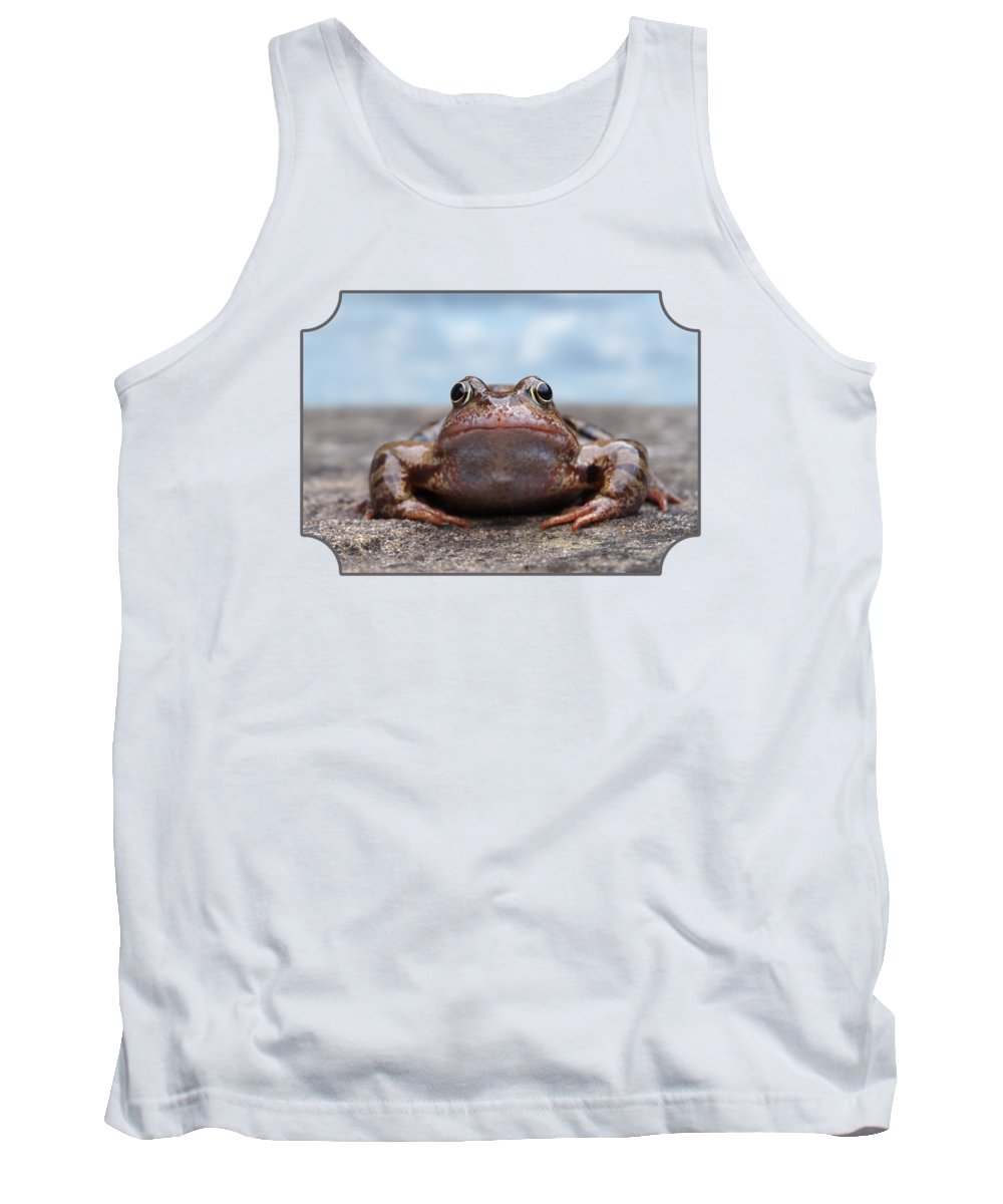 Frog Tank Top featuring the photograph Leaving Home by Gill Billington