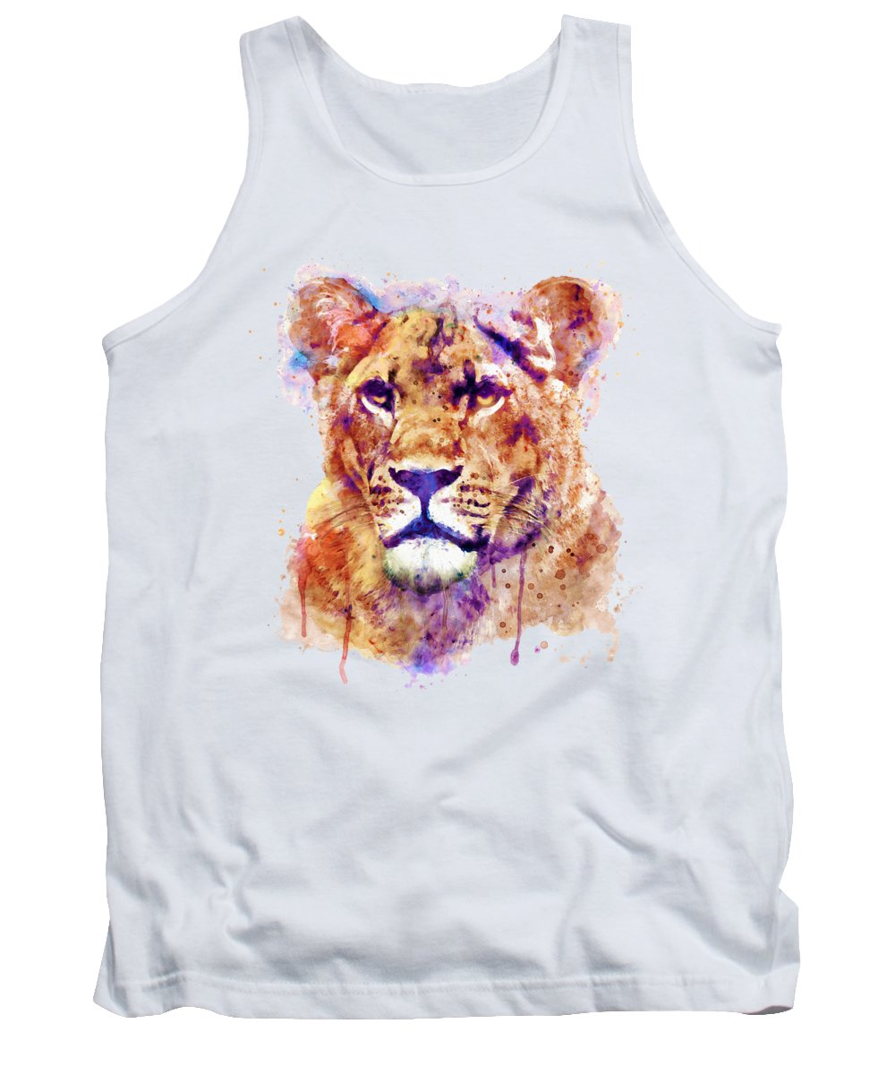 Light Paint Tank Tops
