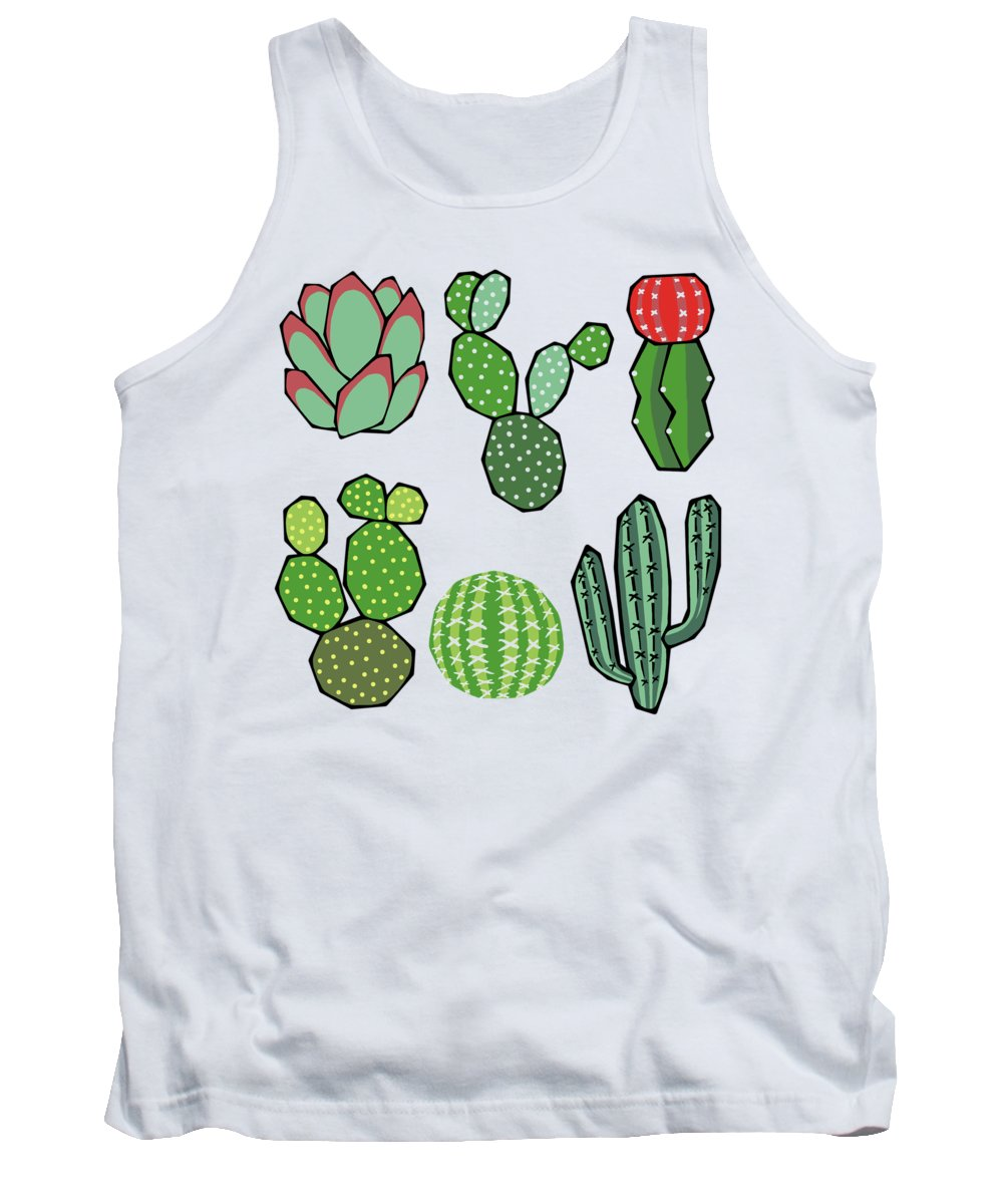 Repeat Digital Art Tank Tops