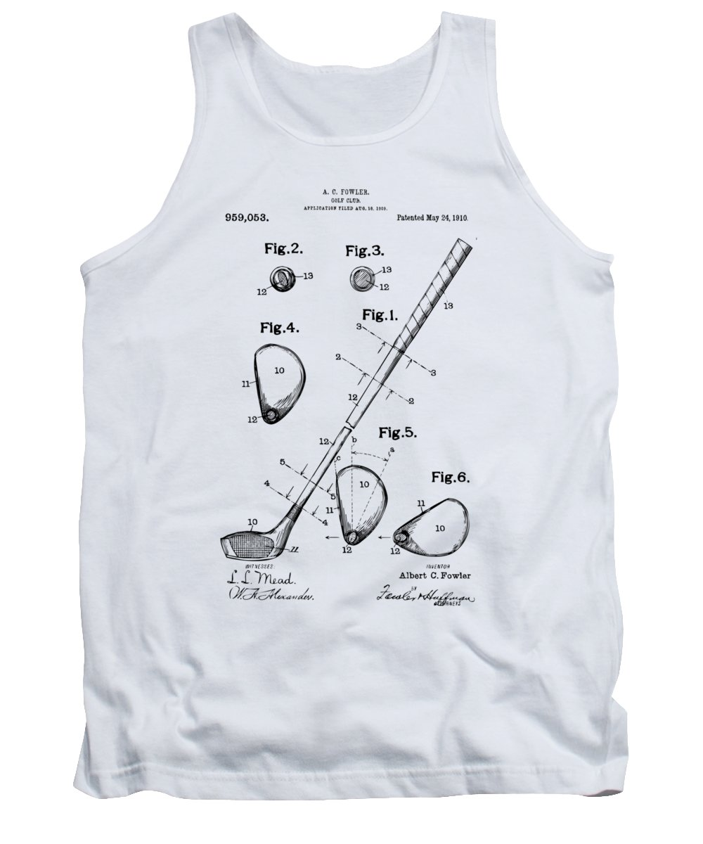 Swinging Digital Art Tank Tops