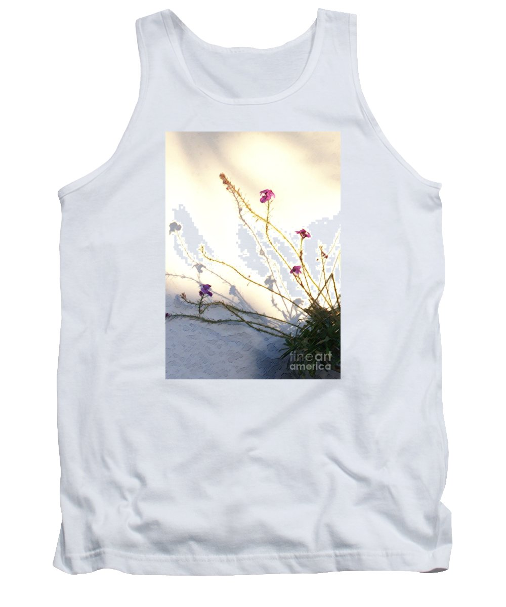 Plant Tank Top featuring the photograph Aspire by Linda Shafer