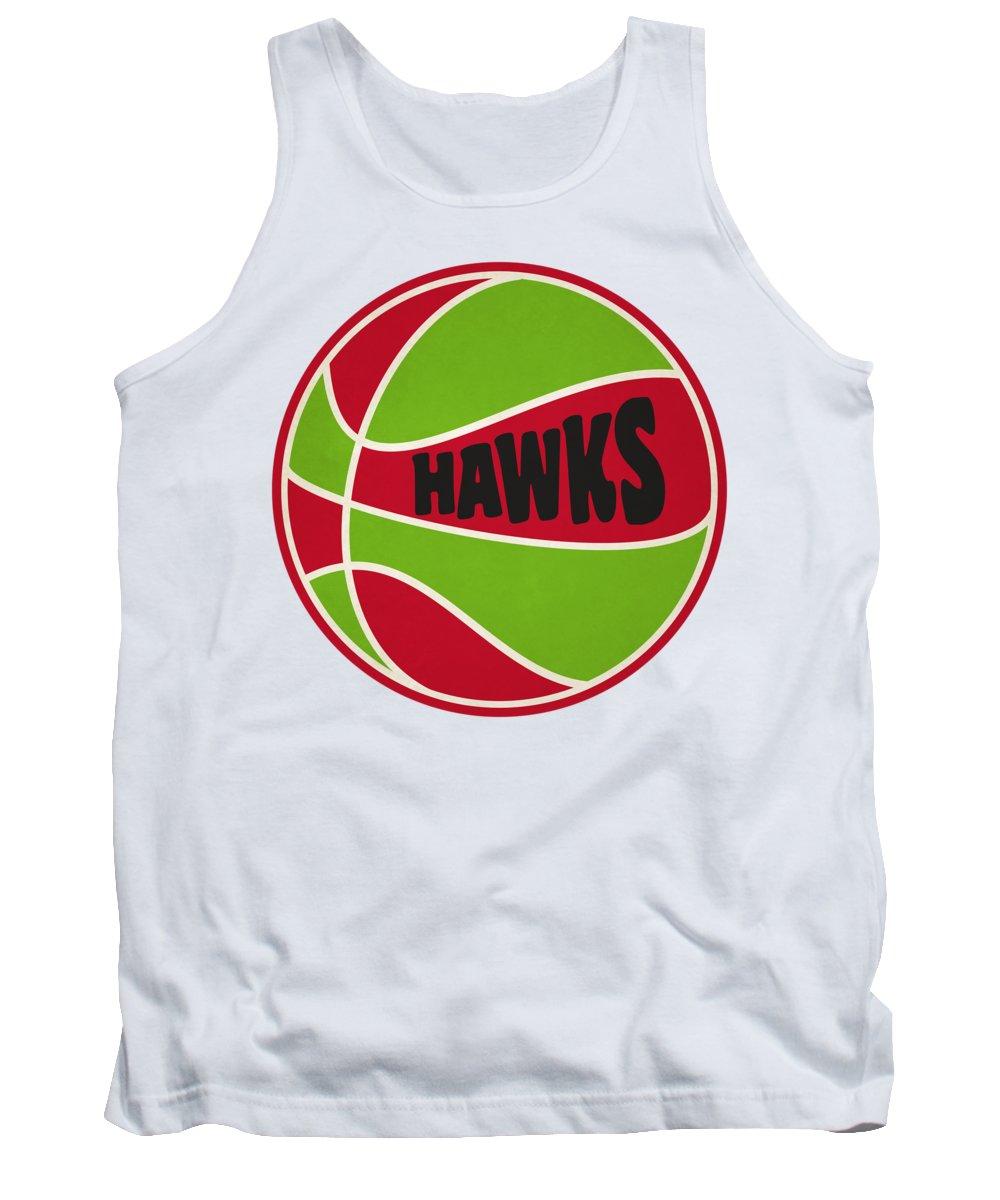 Hawks Tank Top featuring the photograph Atlanta Hawks Retro Shirt by Joe Hamilton