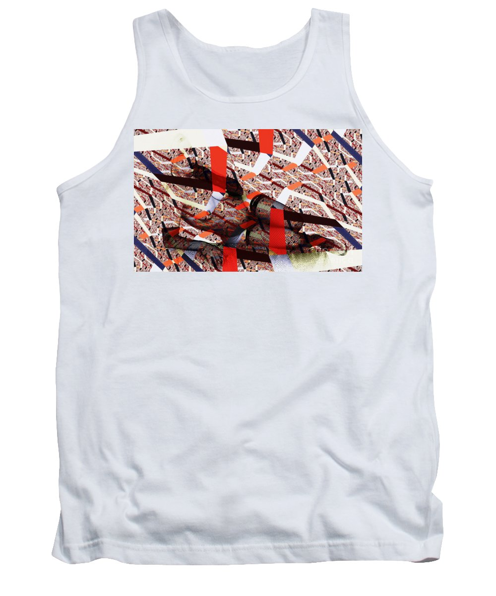 Clay Tank Top featuring the photograph Atomic Link Pinup by Clayton Bruster
