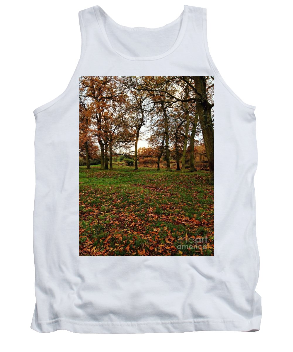 Autumn Tank Top featuring the photograph Autumn Fields, by Melissa Stephenson