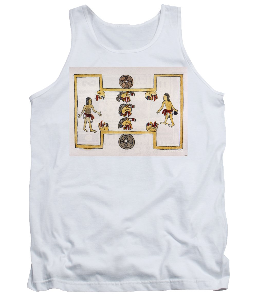 16th Century Tank Top featuring the photograph Aztec Ball Game by Granger