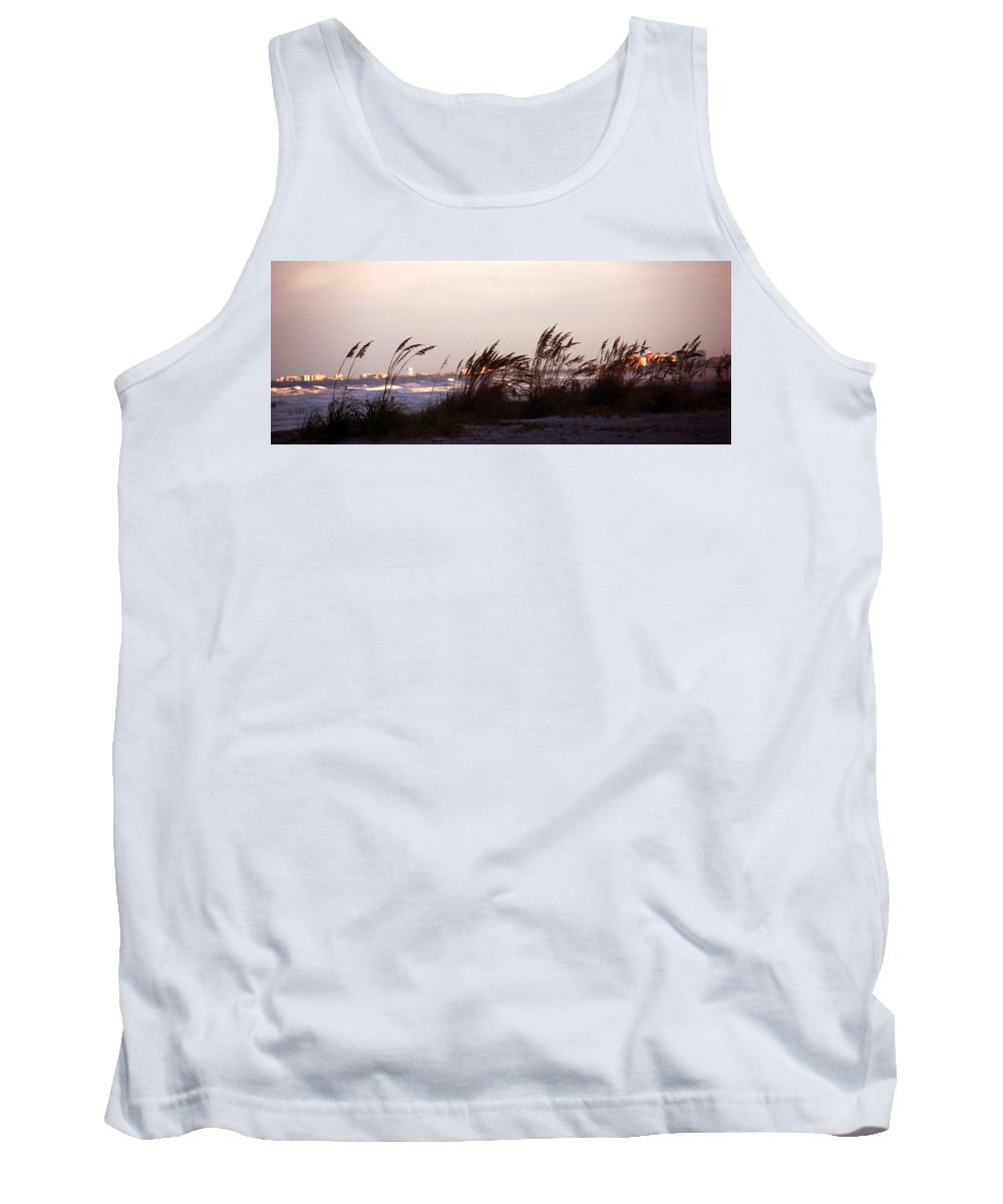 Back To The Shores Tank Top featuring the photograph Back To The Shores by Susanne Van Hulst