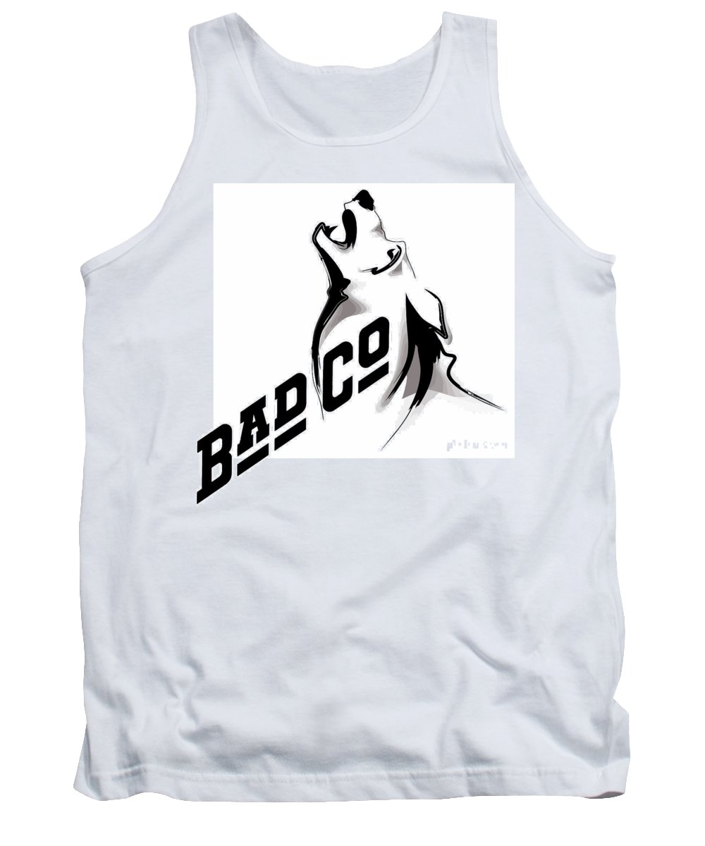 Comics Tank Top featuring the digital art Bad Company by Don Kuing