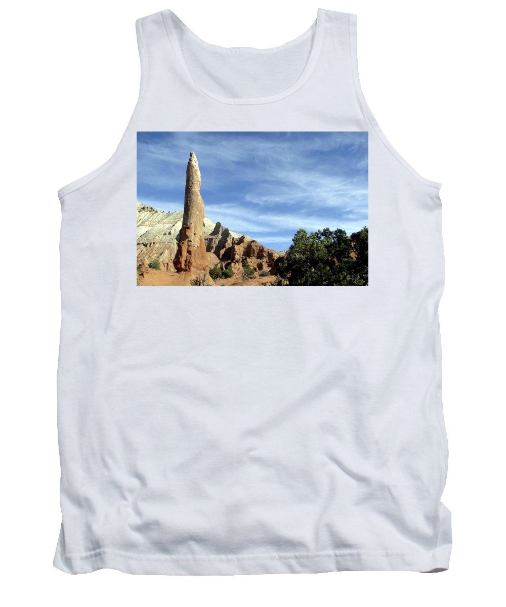 Ballerina Spire Tank Top featuring the photograph Ballerina Spire by NaturesPix
