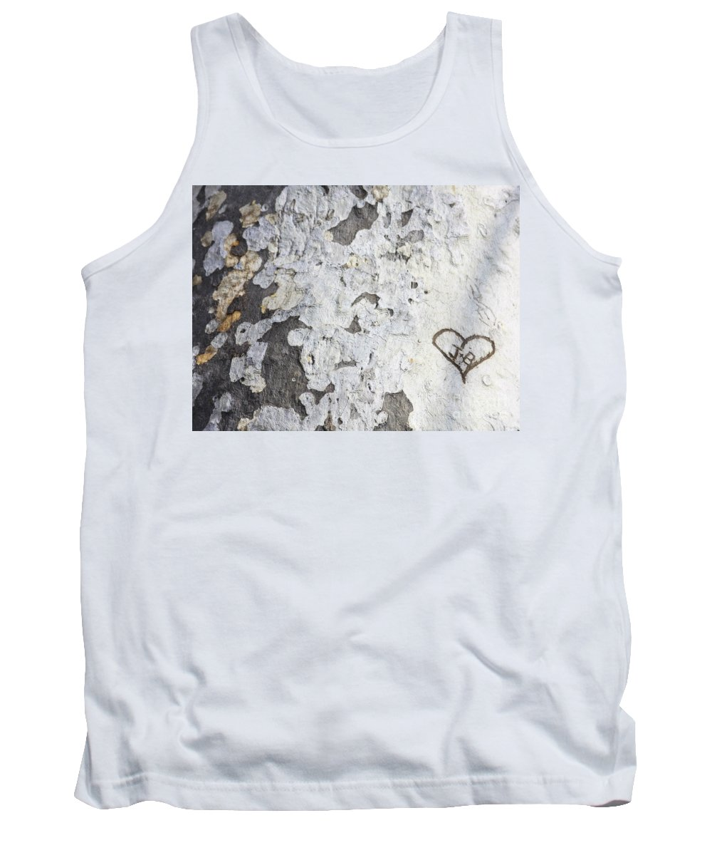 Bark Tank Top featuring the photograph Bark With Heart by Carol Groenen