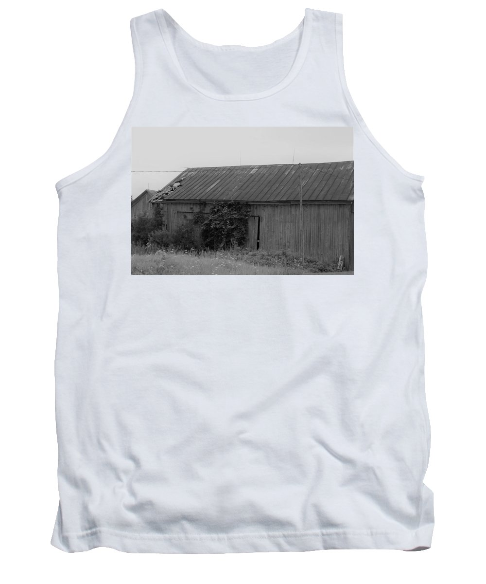 Tank Top featuring the photograph Barn 15 by John Bichler