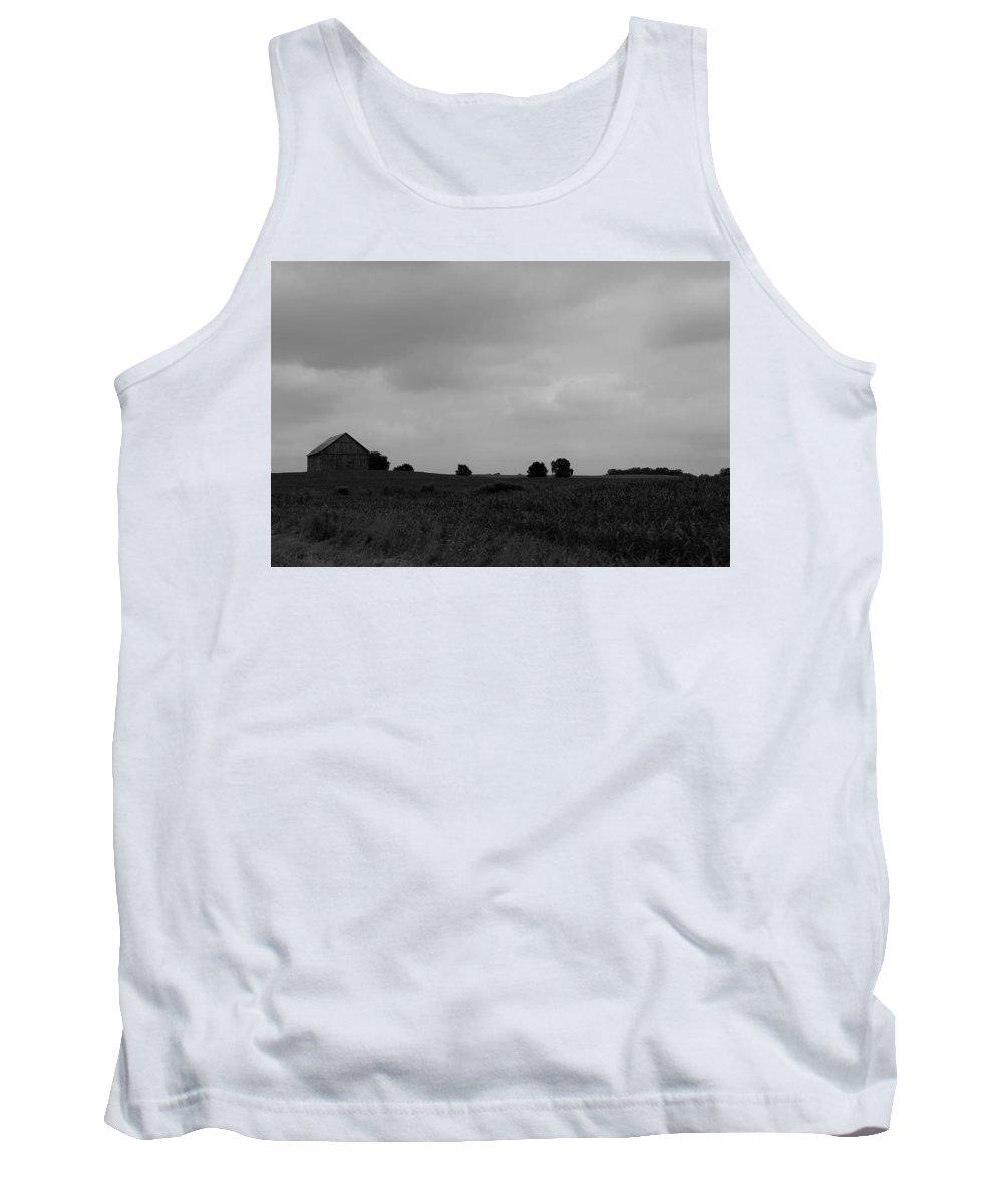 Tank Top featuring the photograph Barn 7 by John Bichler
