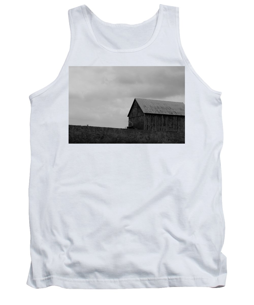 Tank Top featuring the photograph Barn 8 by John Bichler