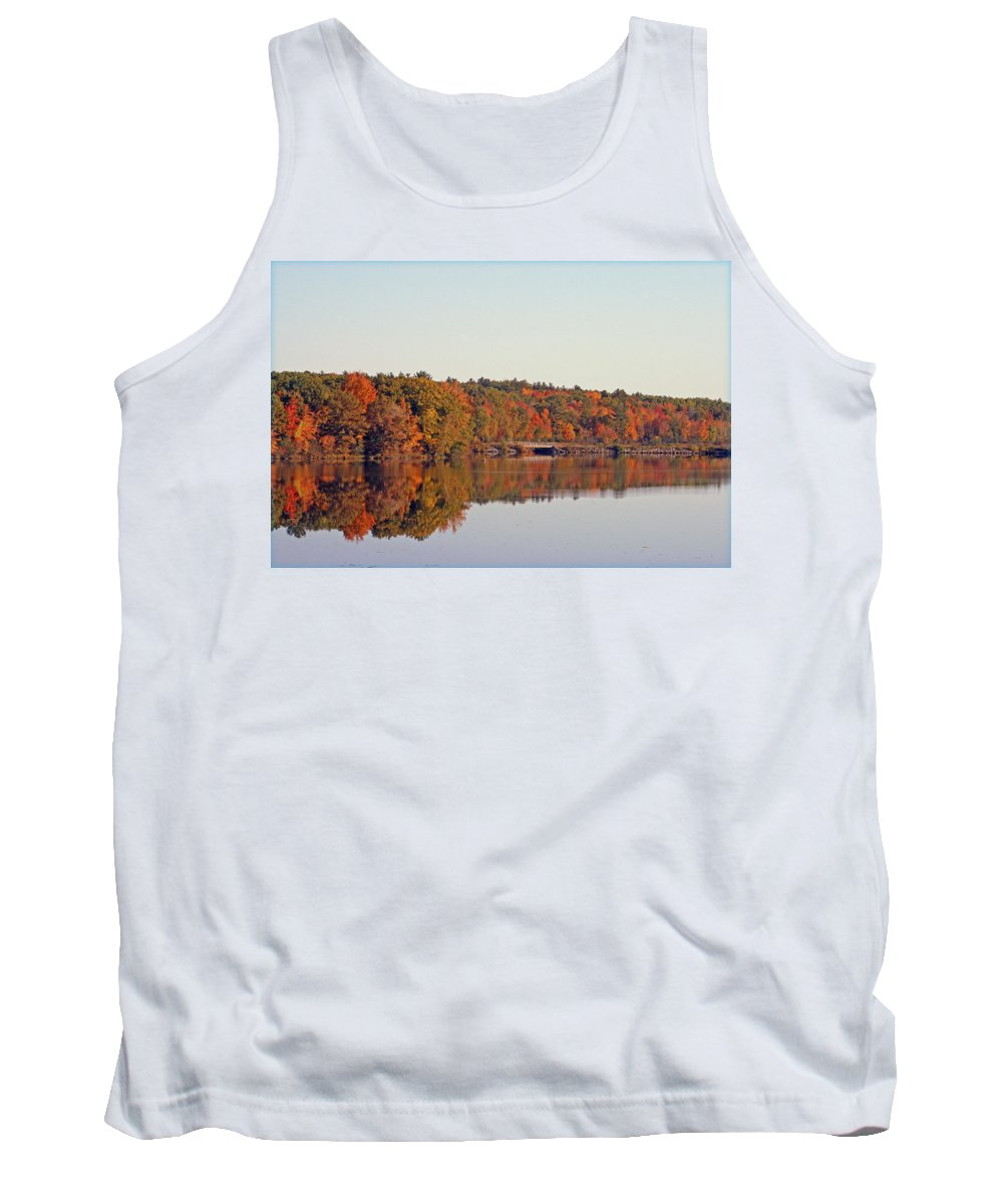 Nature Tank Top featuring the photograph Beautiful Reflections by Kay Novy