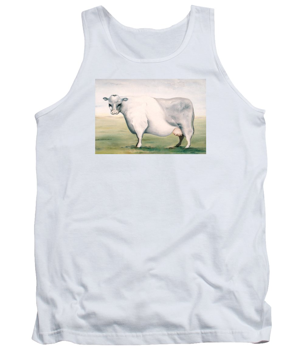Beef Tank Top featuring the painting Beef Holocaust I by Mark Cawood