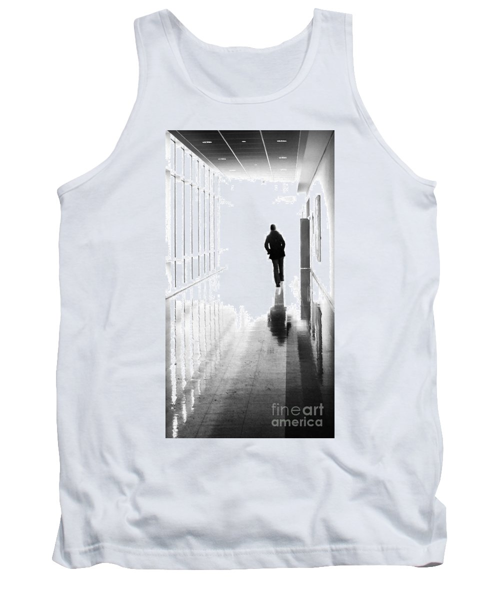 Dipasquale Tank Top featuring the photograph Being Alone Doesnt Mean Youre Free by Dana DiPasquale