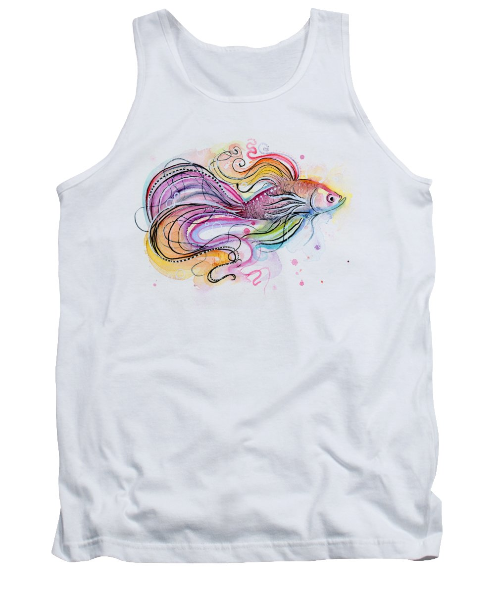 Colorful Fish Tank Tops