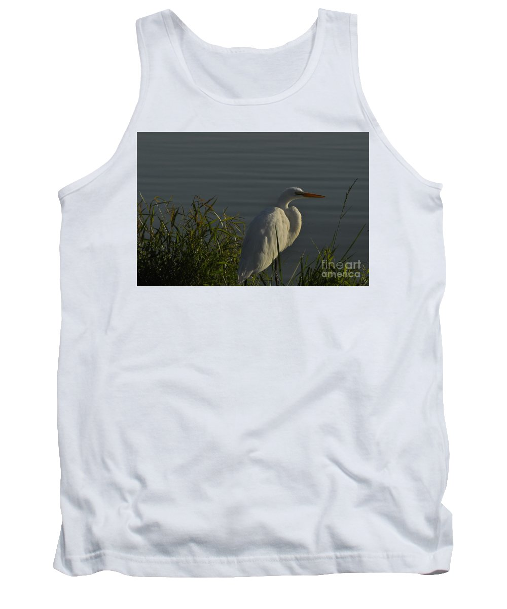 Water Tank Top featuring the photograph Birdman by Vicky Tubb