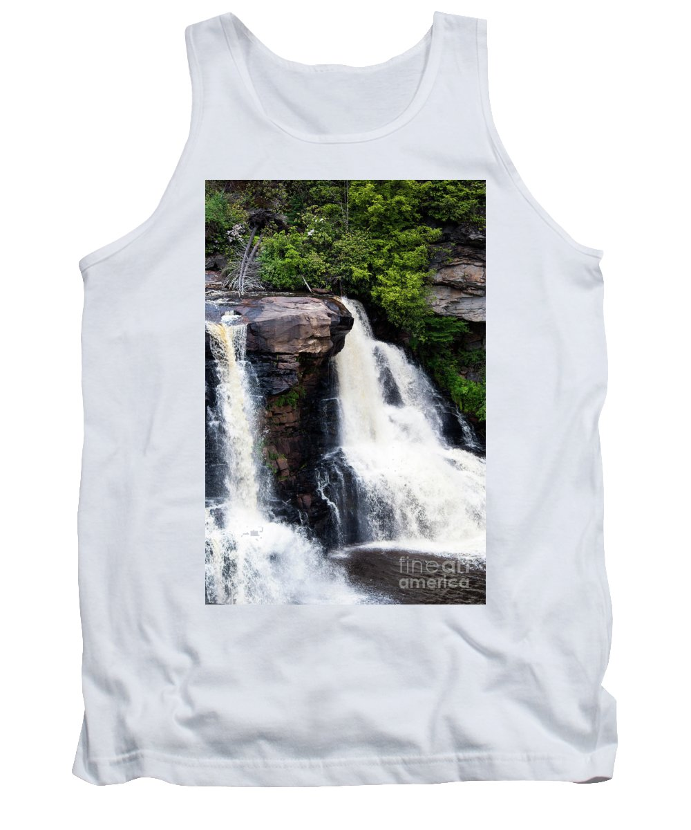 Blackwater Tank Top featuring the photograph Blackwater Falls #4 by Kevin Gladwell