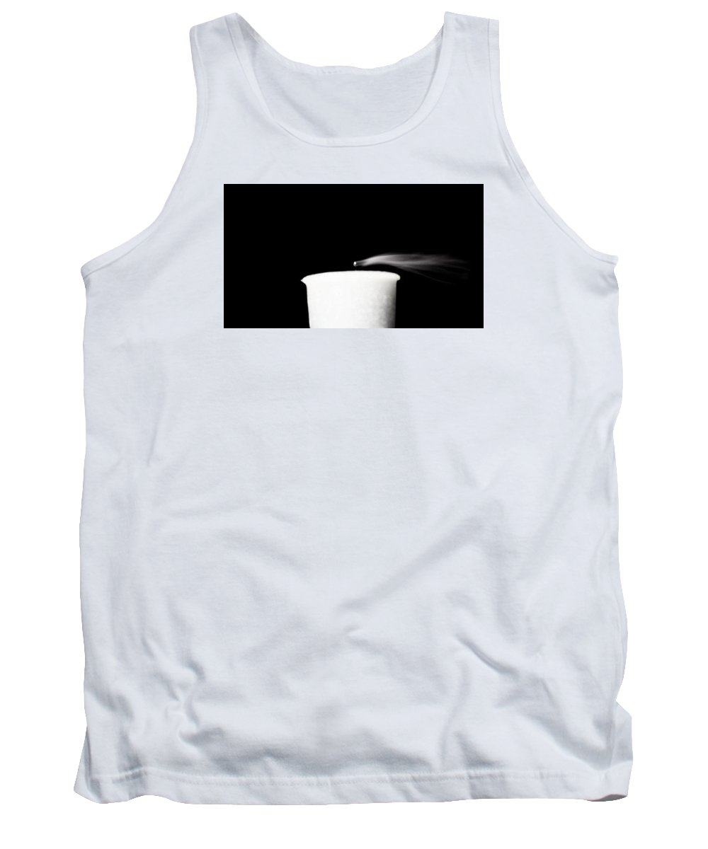 Candle Tank Top featuring the photograph Blown Out 2 by Danielle Attanasio