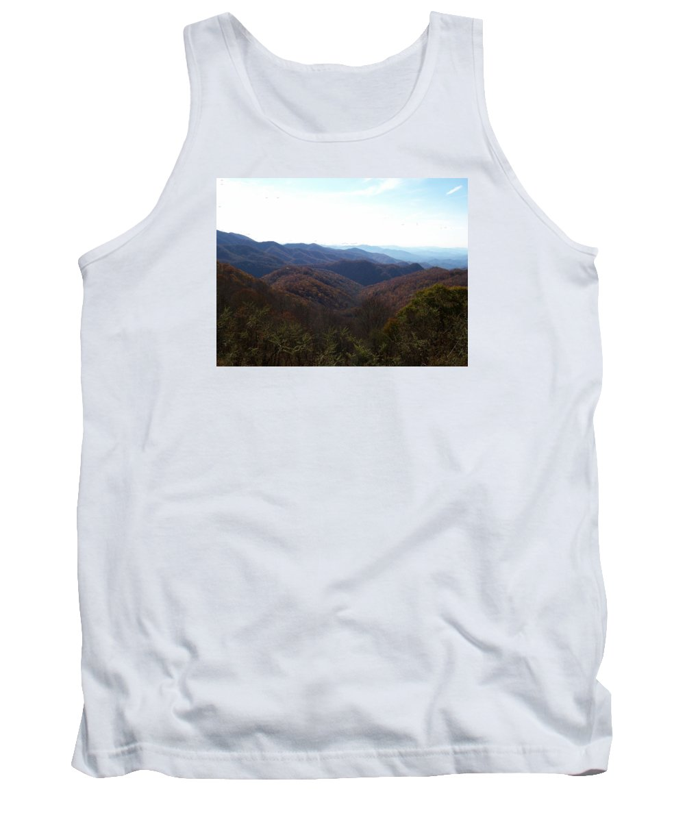Tank Top featuring the photograph Blue Ridge by Susan Persons