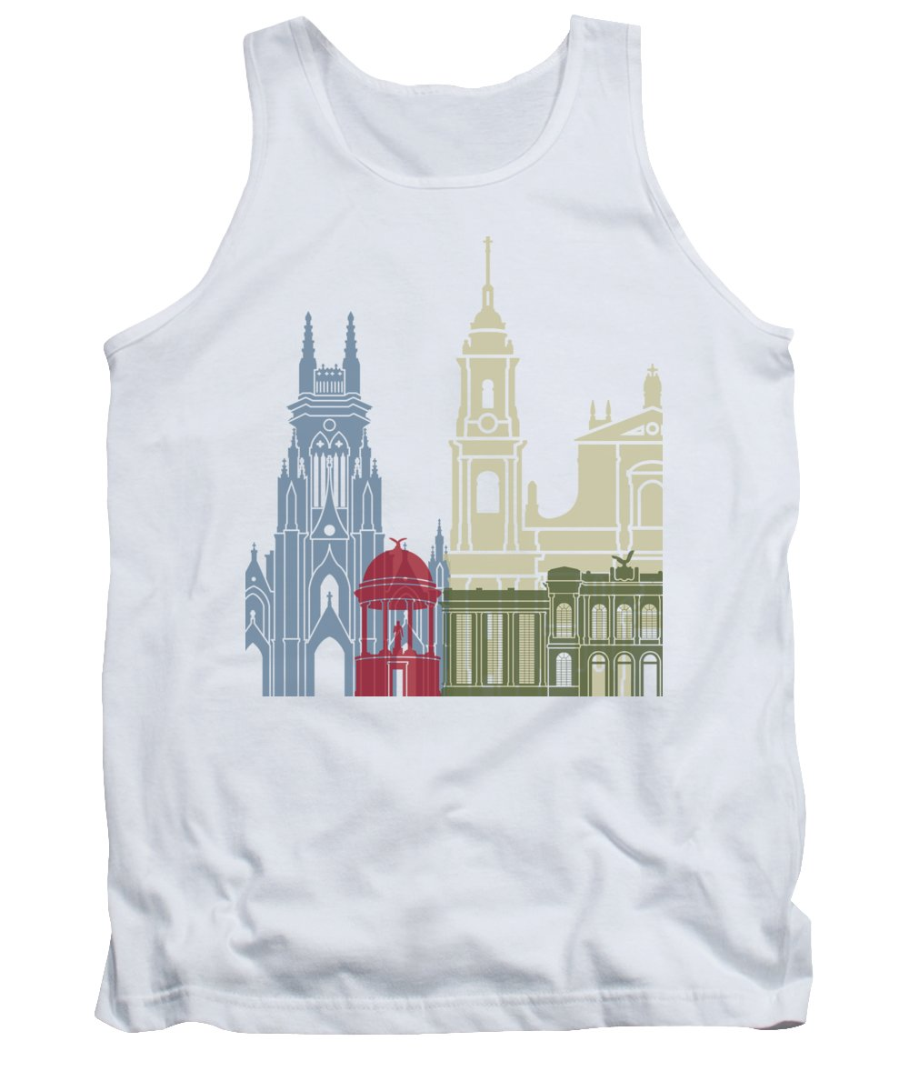 Colombian Paintings Tank Tops