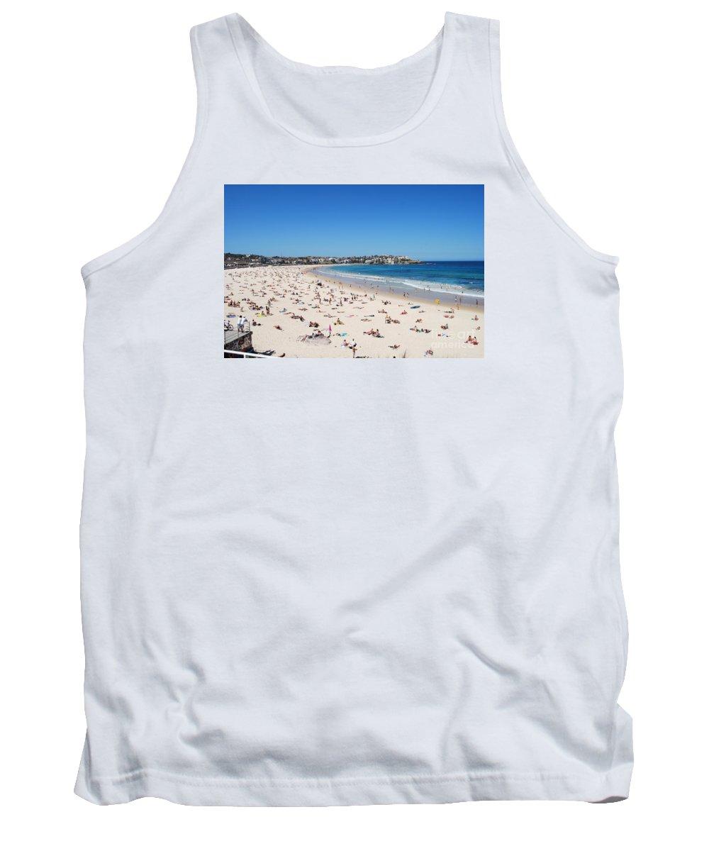 Bondi Beach Tank Top featuring the photograph Bondi Beach In Sydney Australia by Catherine Sherman