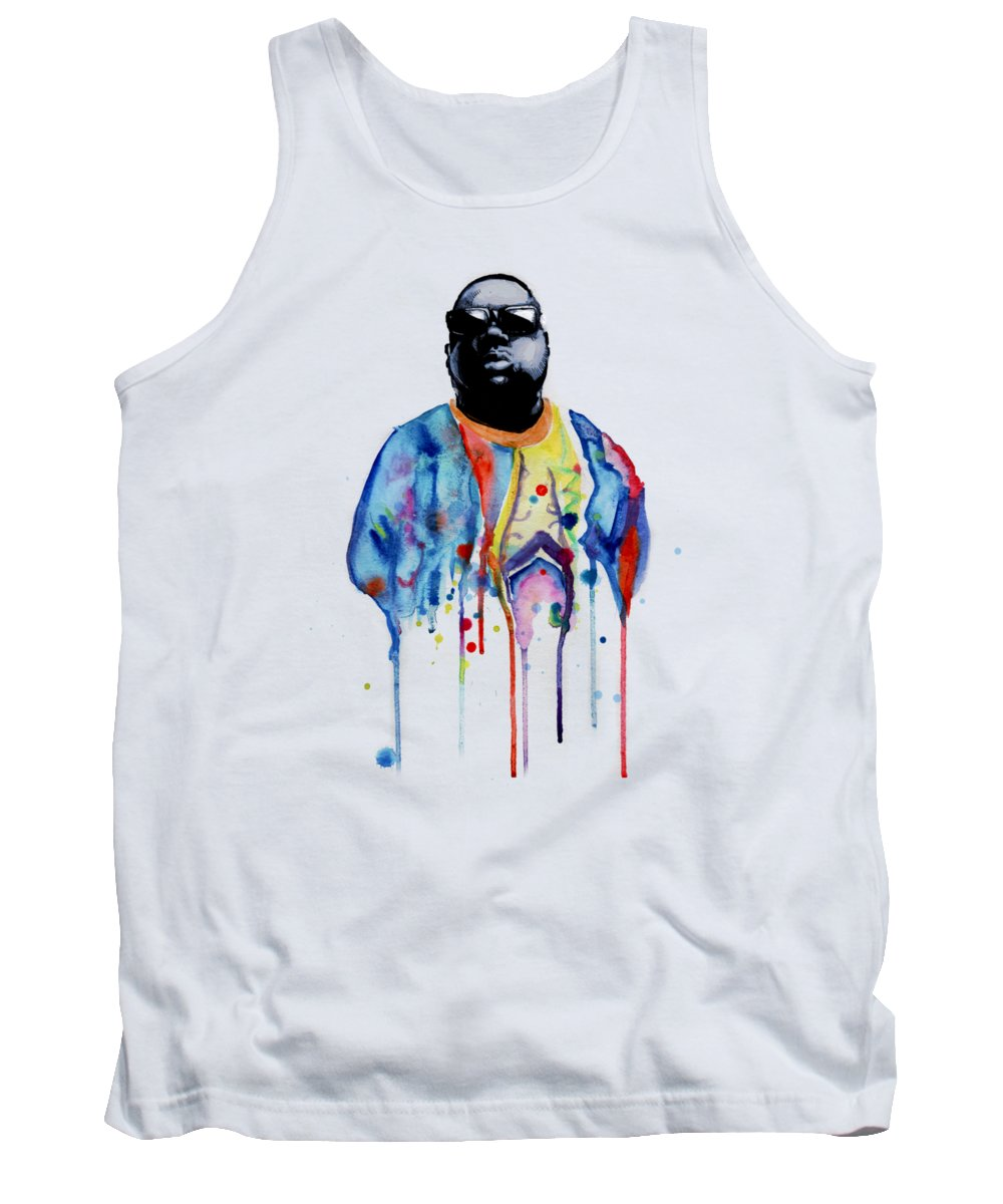 Notorious Tank Top featuring the drawing Born Sinner by Ludwig Van Bacon