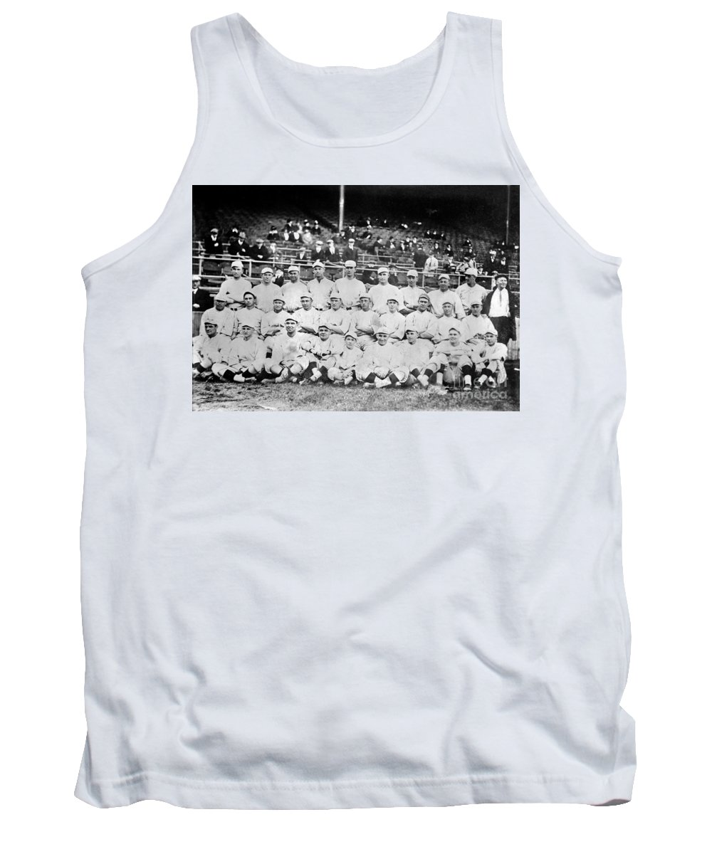1916 Tank Top featuring the photograph Boston Red Sox, 1916 by Granger