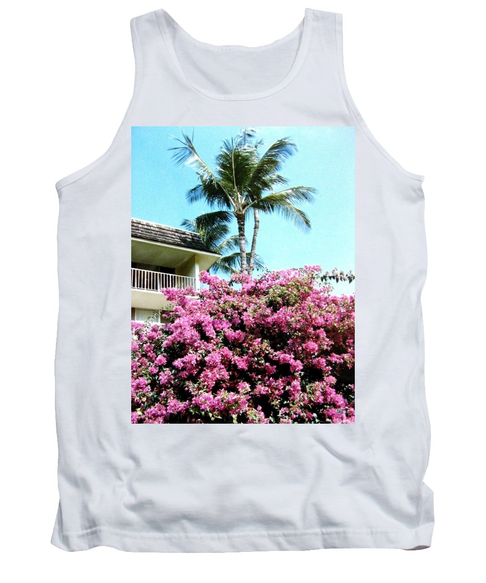 1986 Tank Top featuring the photograph Bougainvillea by Will Borden
