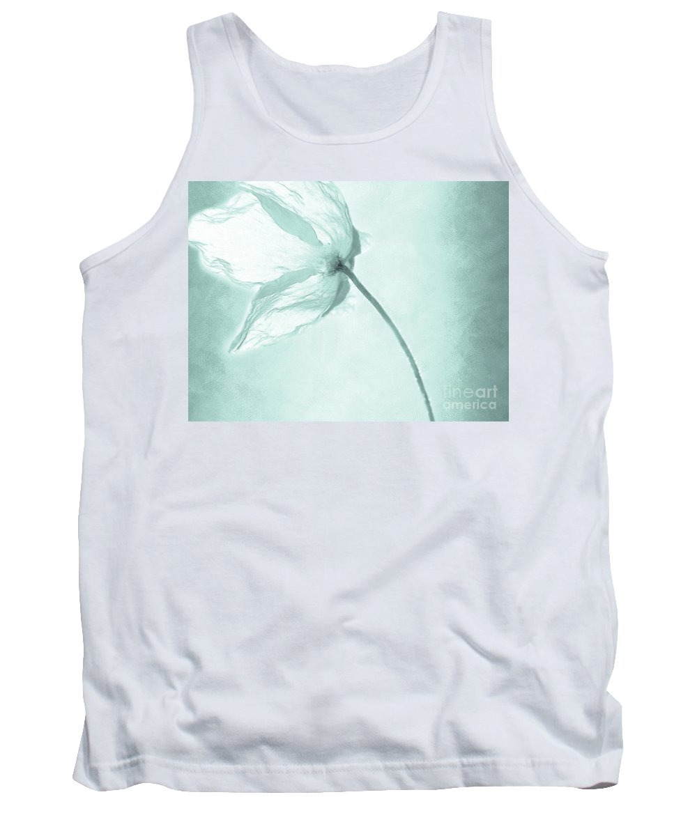 Flower Tank Top featuring the painting Breeze by Jacky Gerritsen