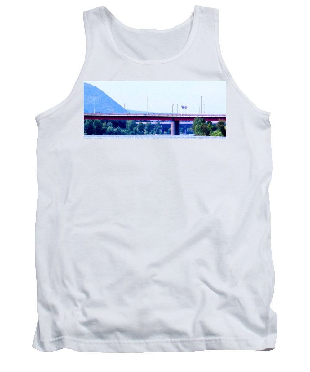 Vienna Tank Top featuring the photograph Bridges To The Vienna Woods by Ian MacDonald