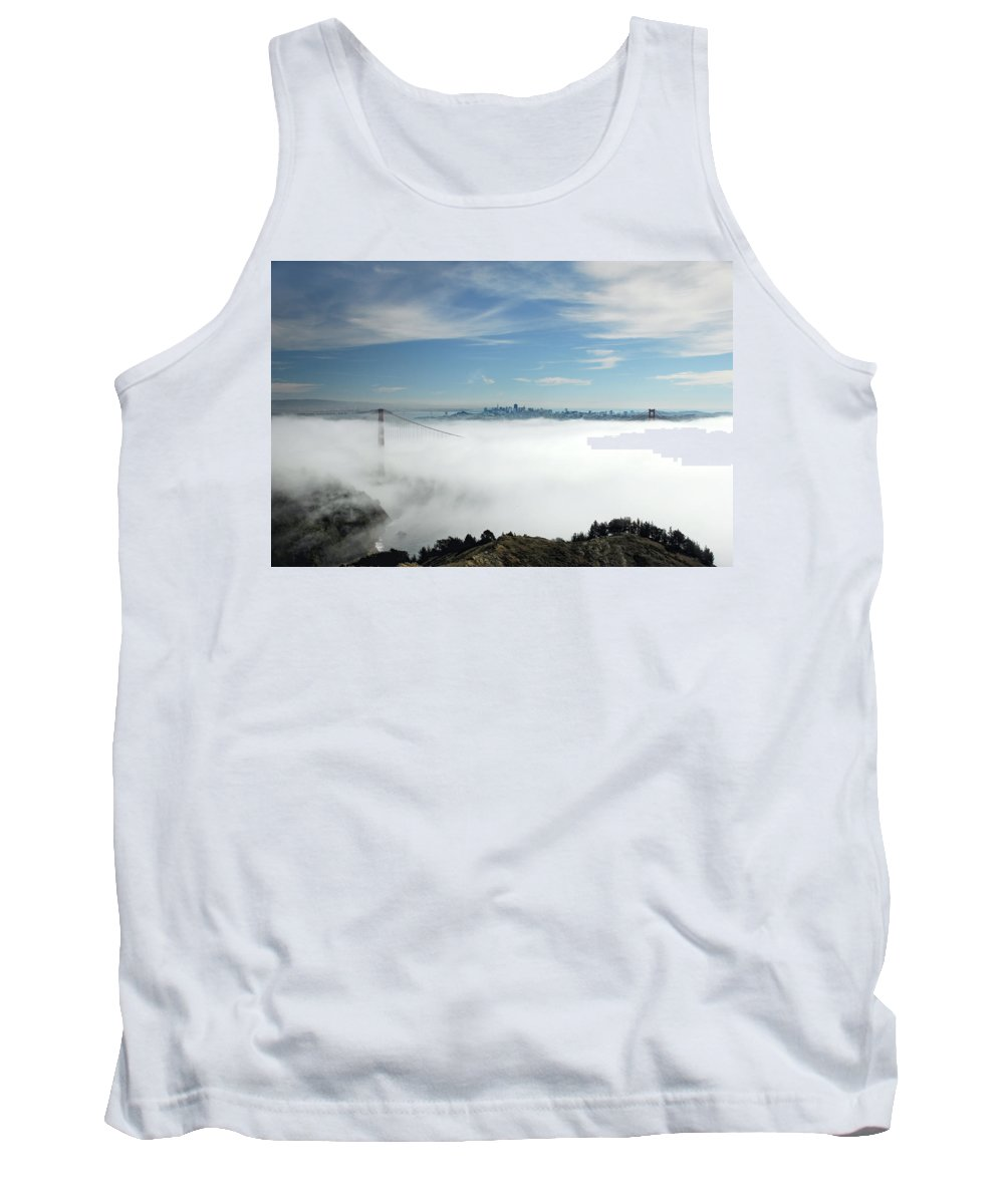 San Francisco Tank Top featuring the photograph Brigadoon by Donna Blackhall