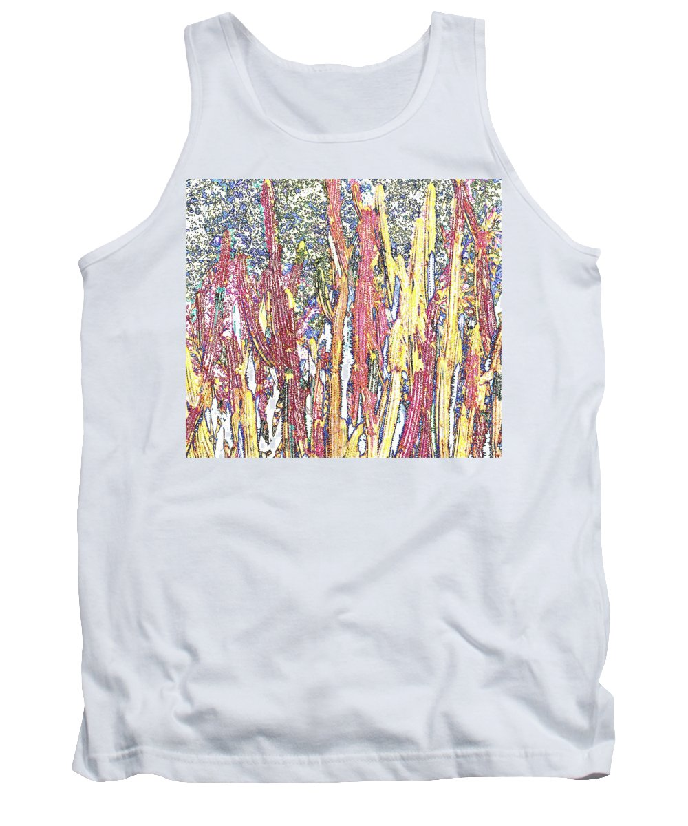 Forest Tank Top featuring the photograph Brimstone Forest by Ian MacDonald