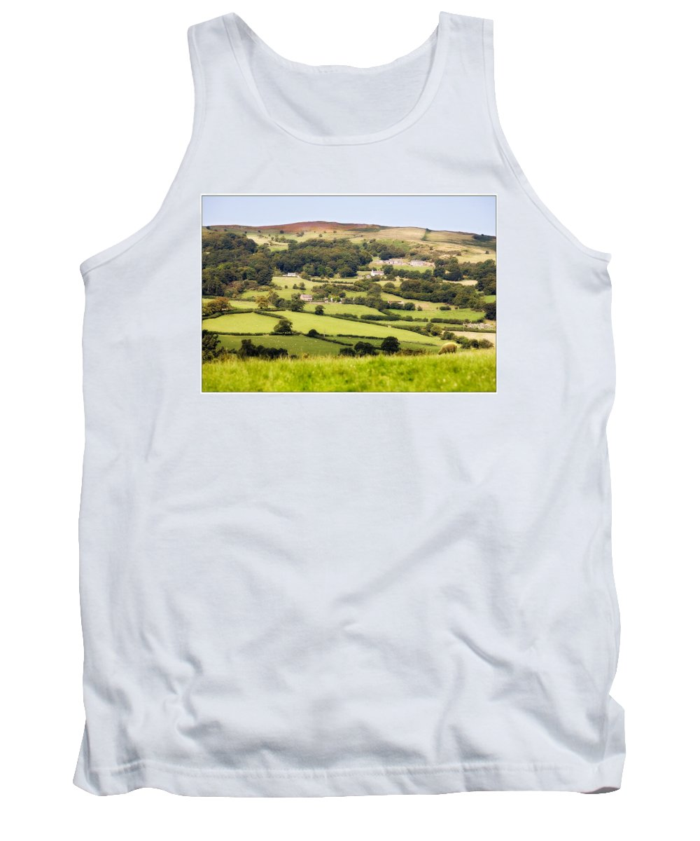Landscape Tank Top featuring the photograph British Landscape by Mal Bray