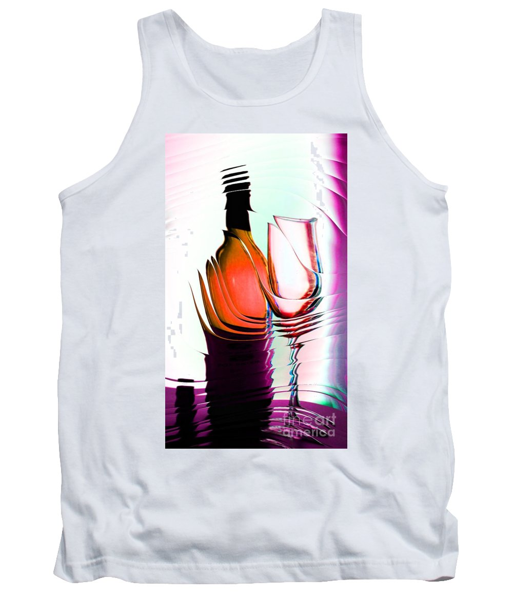 Bottle Tank Top featuring the photograph Broken Promise by Donna Bentley