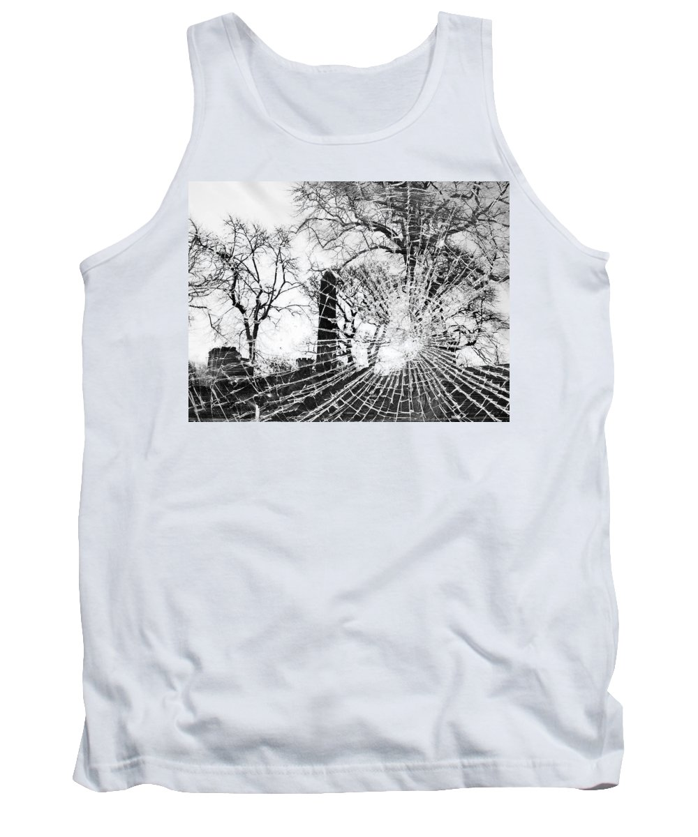 Tree Tank Top featuring the photograph Broken Trees by Munir Alawi