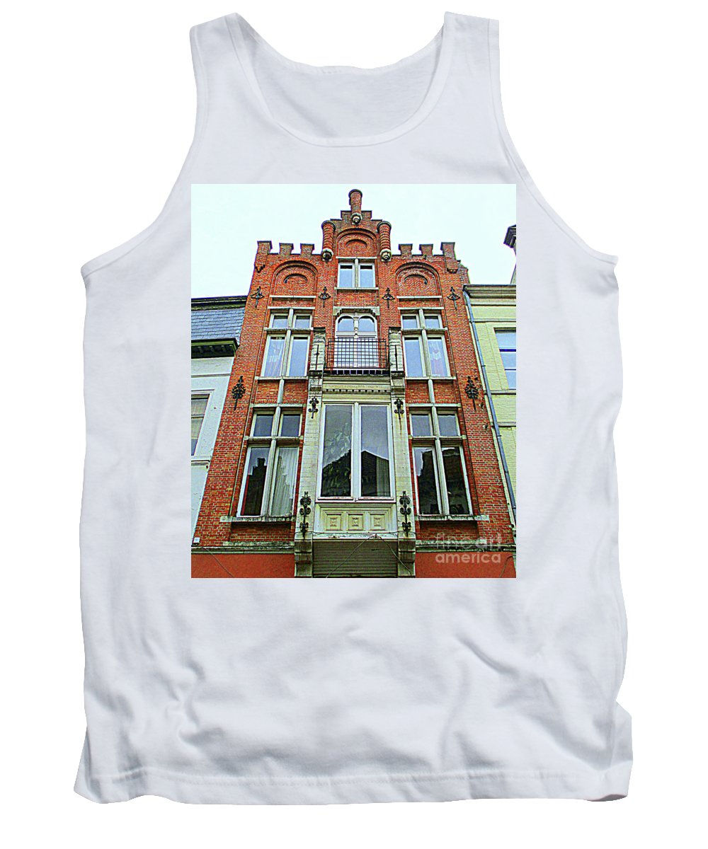 Bruges Tank Top featuring the photograph Bruges 31 by Randall Weidner
