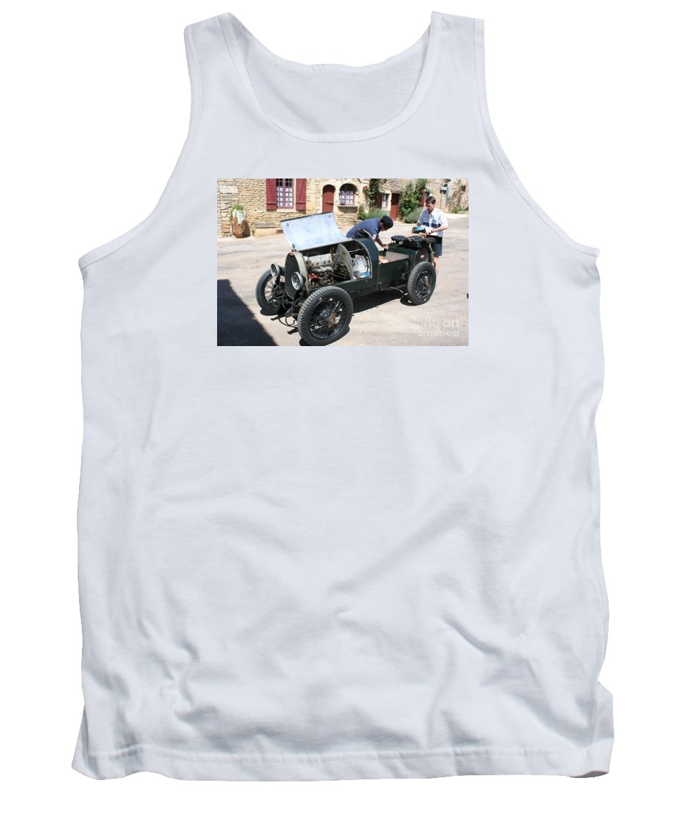 Oldtimer Tank Top featuring the photograph Bugatti Oldtimer by Christiane Schulze Art And Photography
