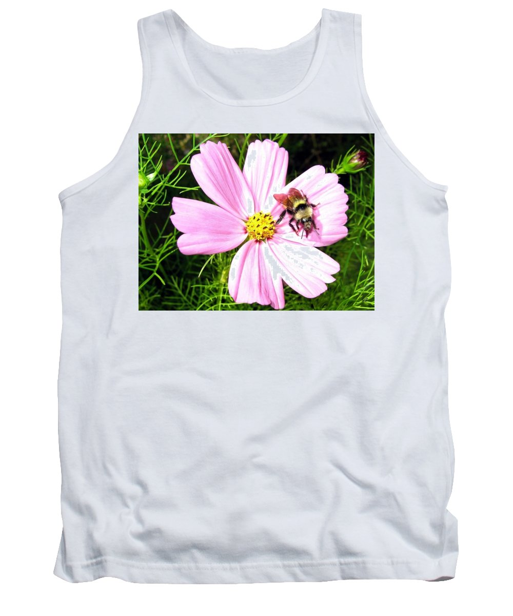 Bee Tank Top featuring the photograph Busy Bee by Will Borden